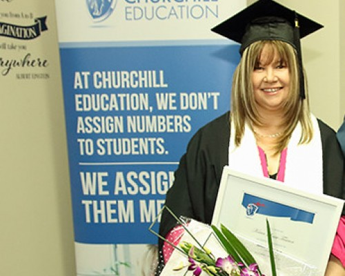 Karen's qualification gives her '... more security and more opportunities'