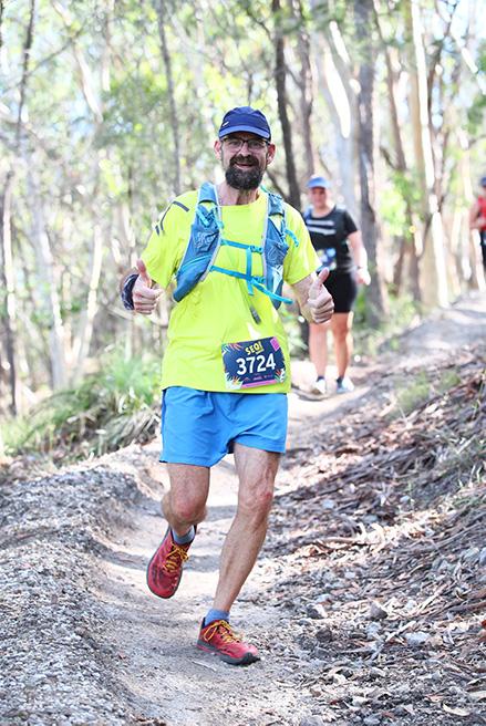 Randall Smith trail running