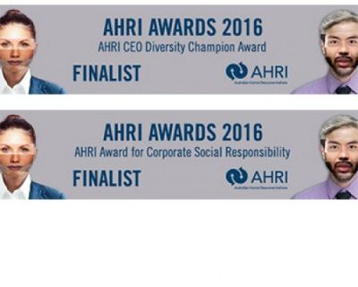 We're finalists in the AHRI Awards 2016!
