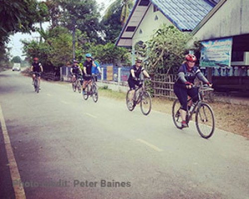 Wheels of Fortune- The HATW 800km bike ride for Boxing Day tsunami orphans