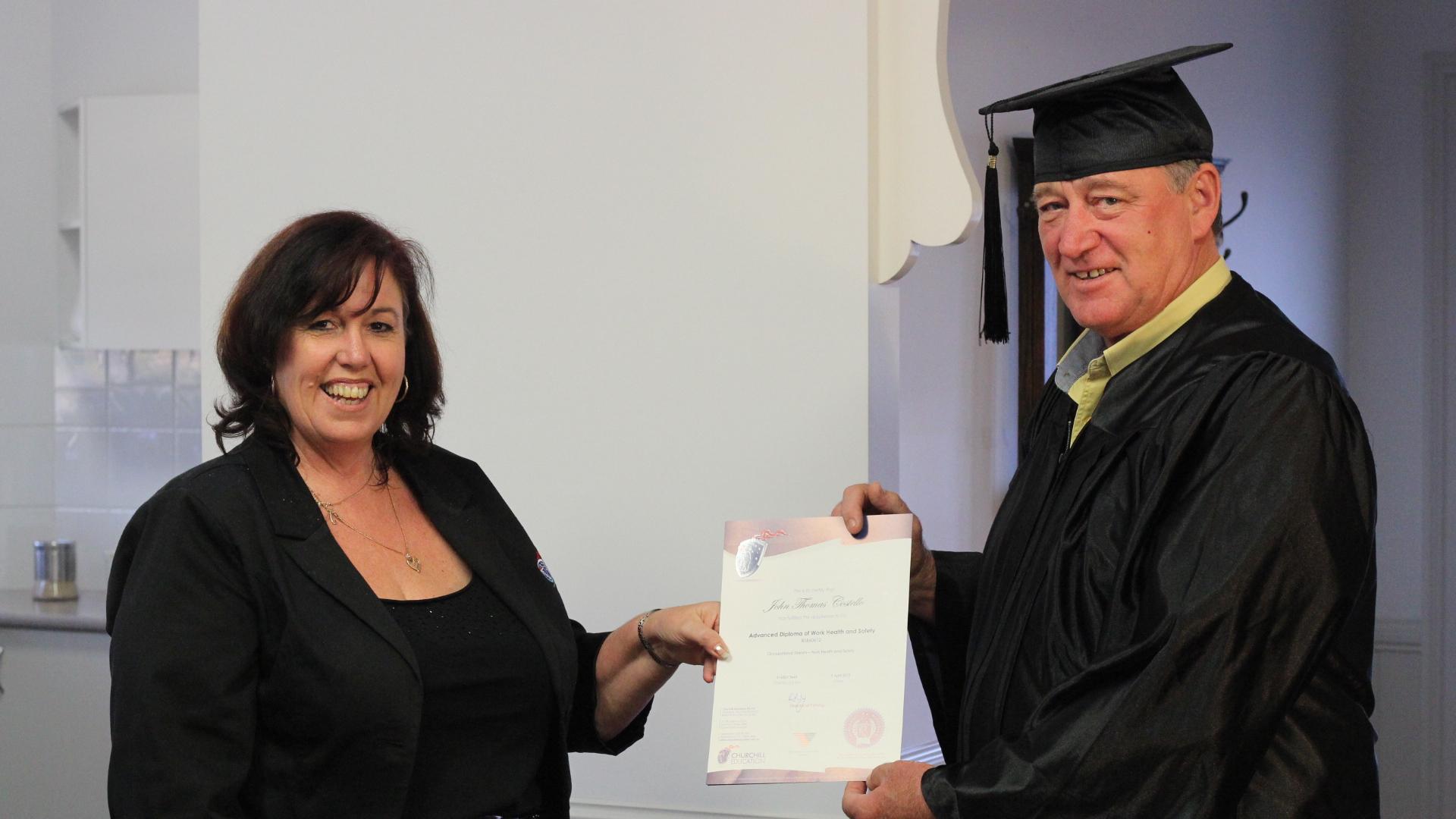 Churchill Education Alumni John Costello