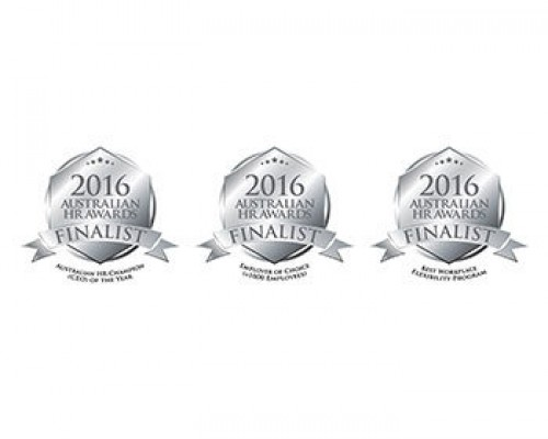 finalist badge for hr awards