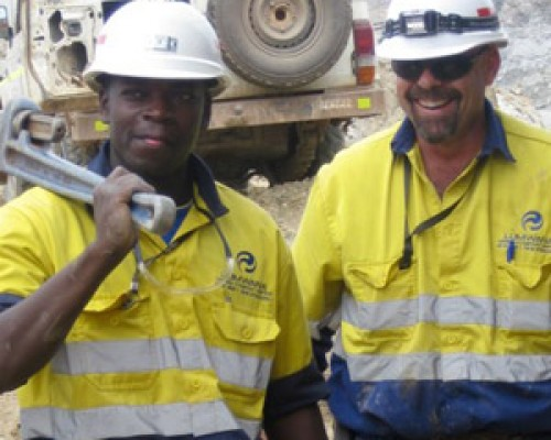 two miners